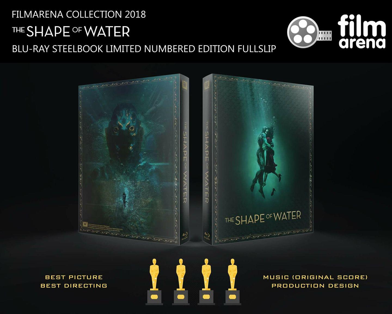 The Shape Of Water steelbook filmarena