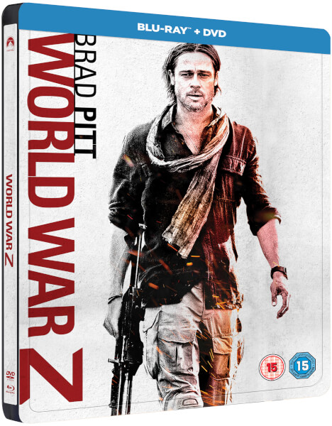 World War Z steelbook zavvi