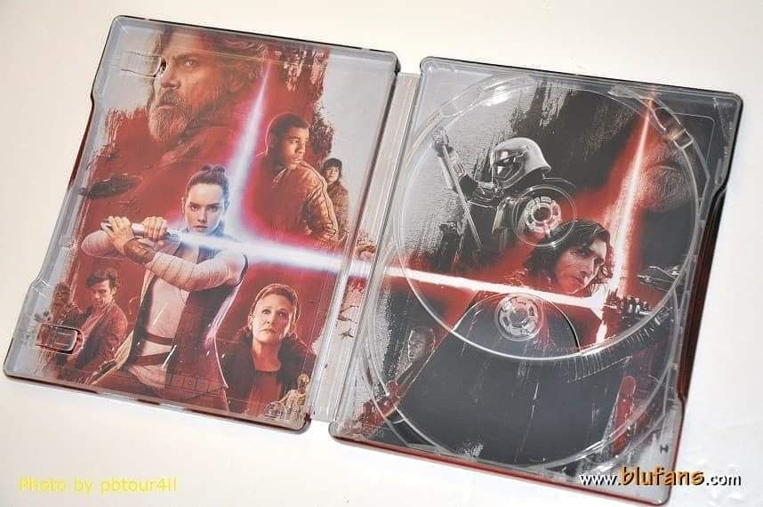 Star Wars The Last Jedi steelbook blufans 2