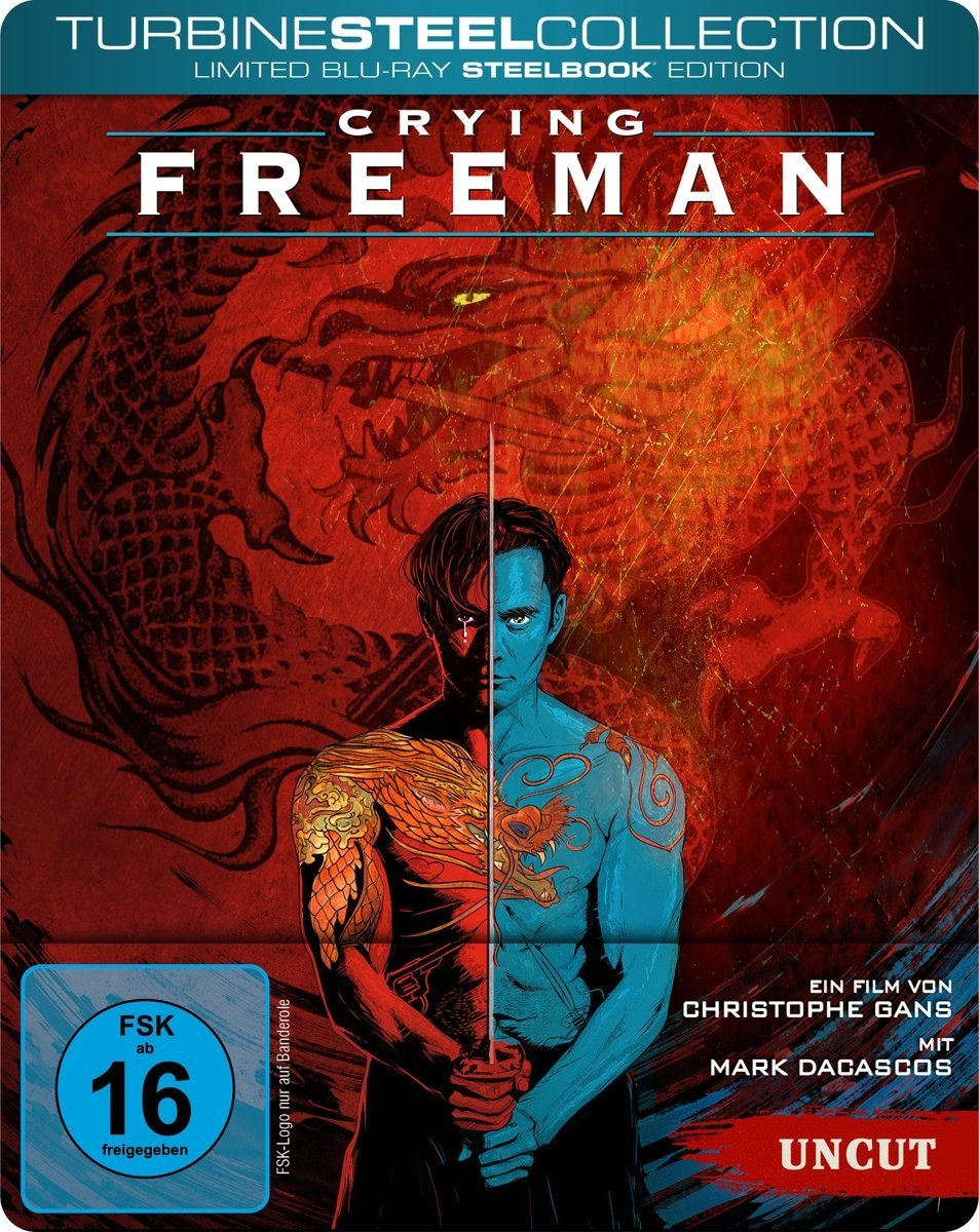 Crying Freeman steelbook DE
