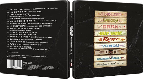 Guardians Galaxy vol 2 steelbook CD 2