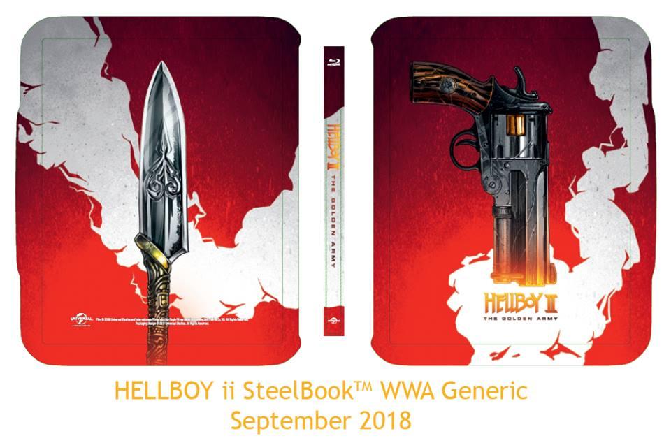 Hellboy II steelbook