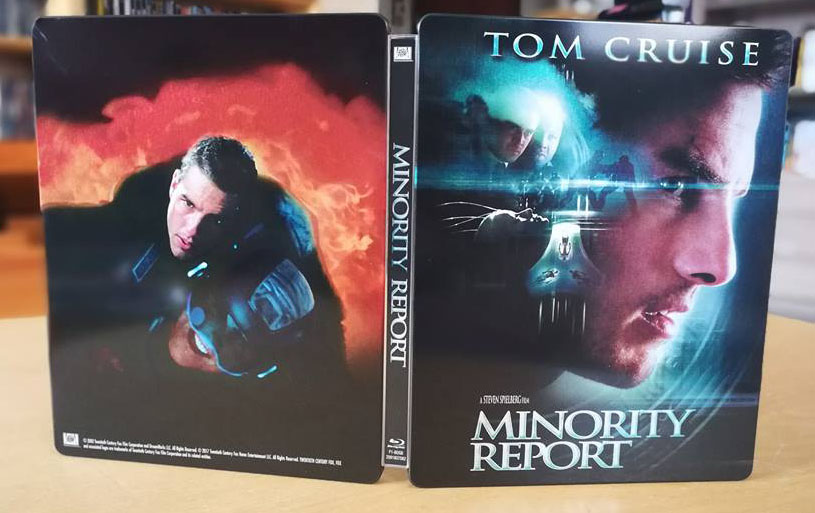 Minority Report steelbook 2
