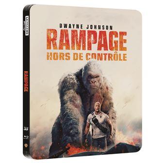 Rampage steelbook 4K
