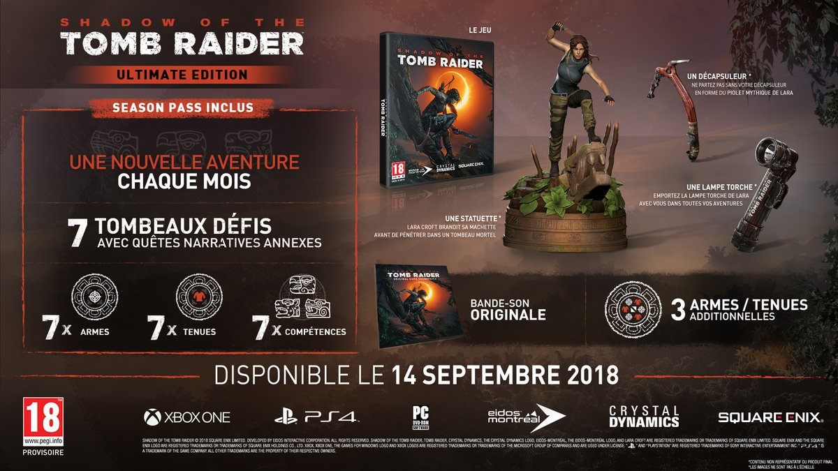 Shadow of the Tomb Raider collector
