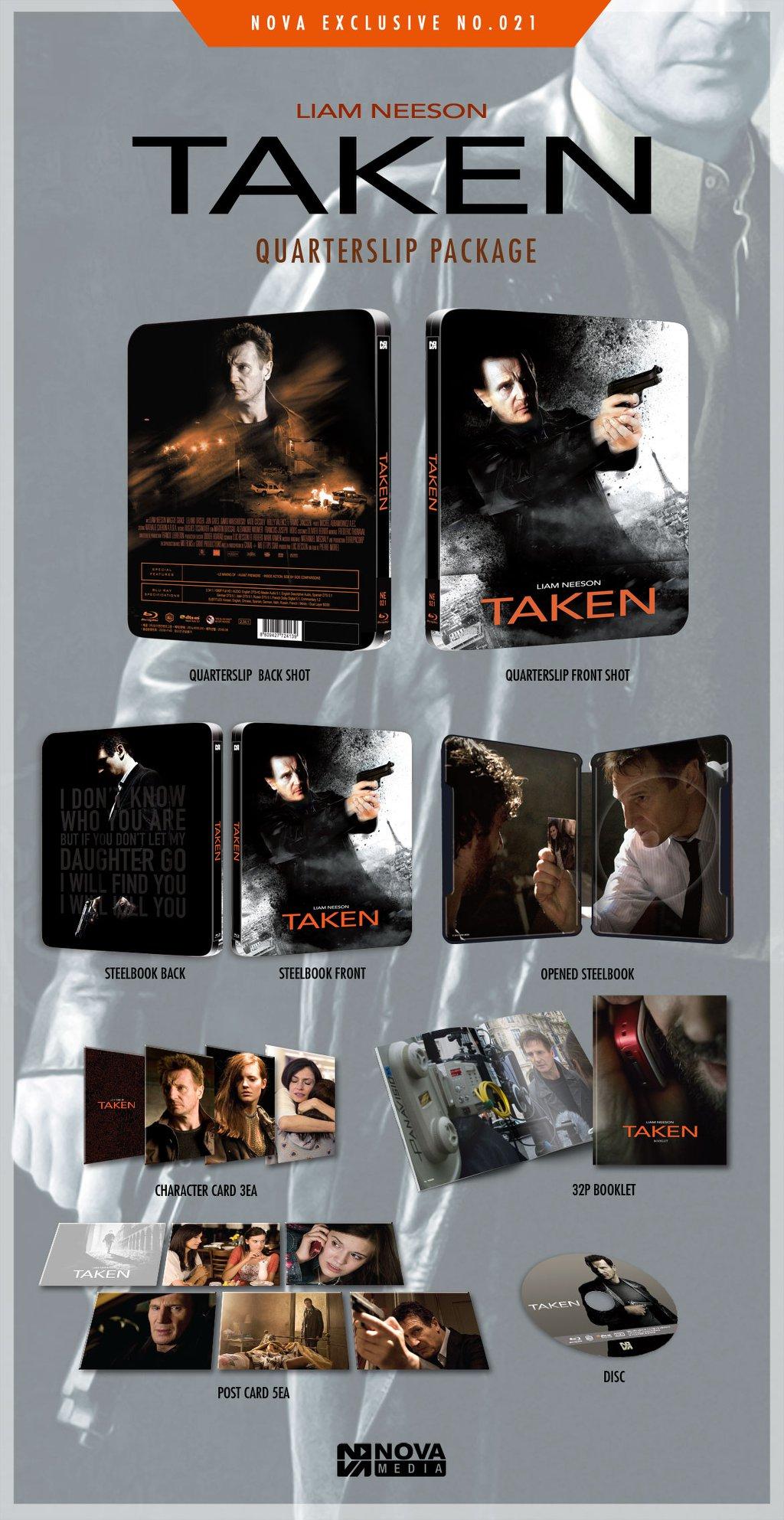 Taken steelbook novamedia 3