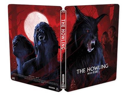 Howling-steelbook