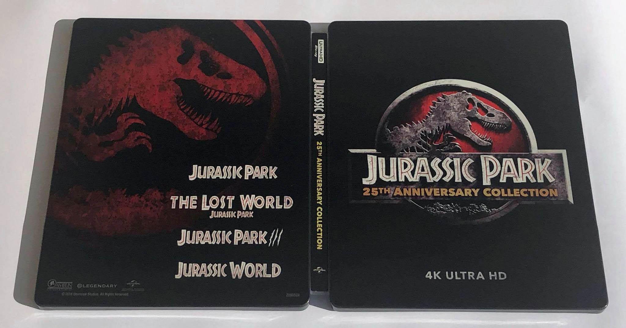 Jurassic Park steelbook Bestbuy 2