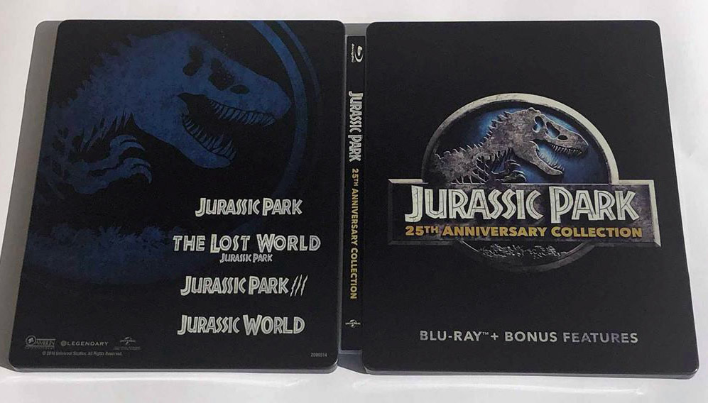 Jurassic Park steelbook Bestbuy 7