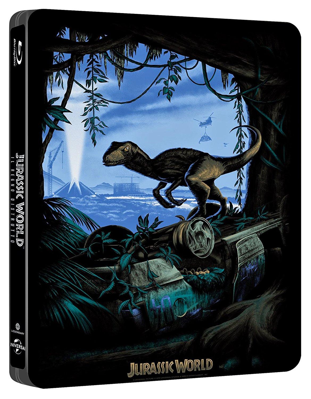 Jurassic World Fallen Kingdom steelbook it 2