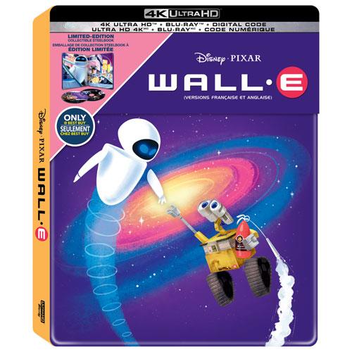 [Débats / BD] Les Blu-ray Disney en Steelbook - Page 13 Wall-e-steelbook-4K