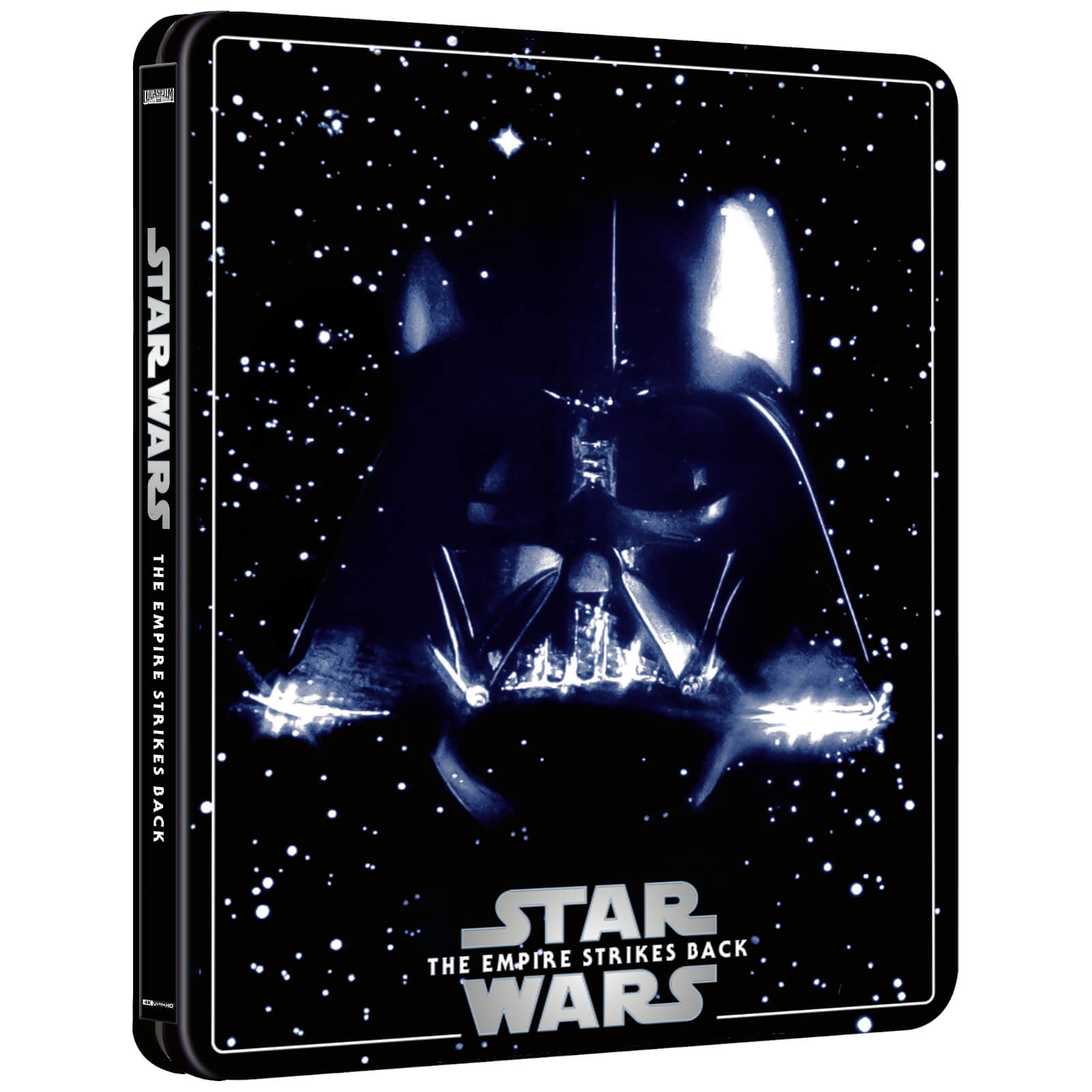 Star Wars: Episode V - The Empire Strikes Back (4K+2D Blu-ray SteelBook) Zavvi Star-Wars-The-Empire-Strike-Back-steelbook-4K-zavvi-1-1