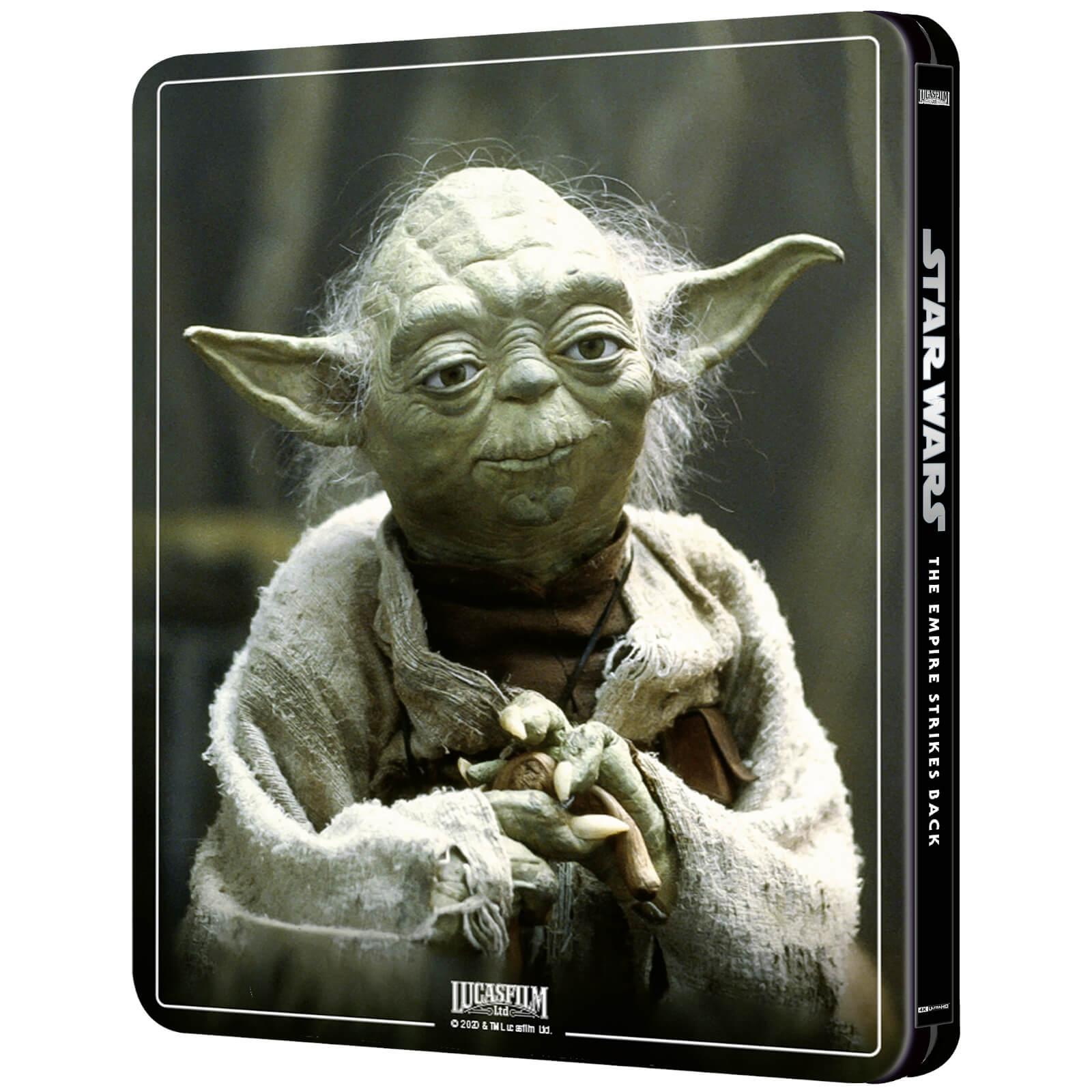 Star Wars: Episode V - The Empire Strikes Back (4K+2D Blu-ray SteelBook) Zavvi Star-Wars-The-Empire-Strike-Back-steelbook-4K-zavvi-2