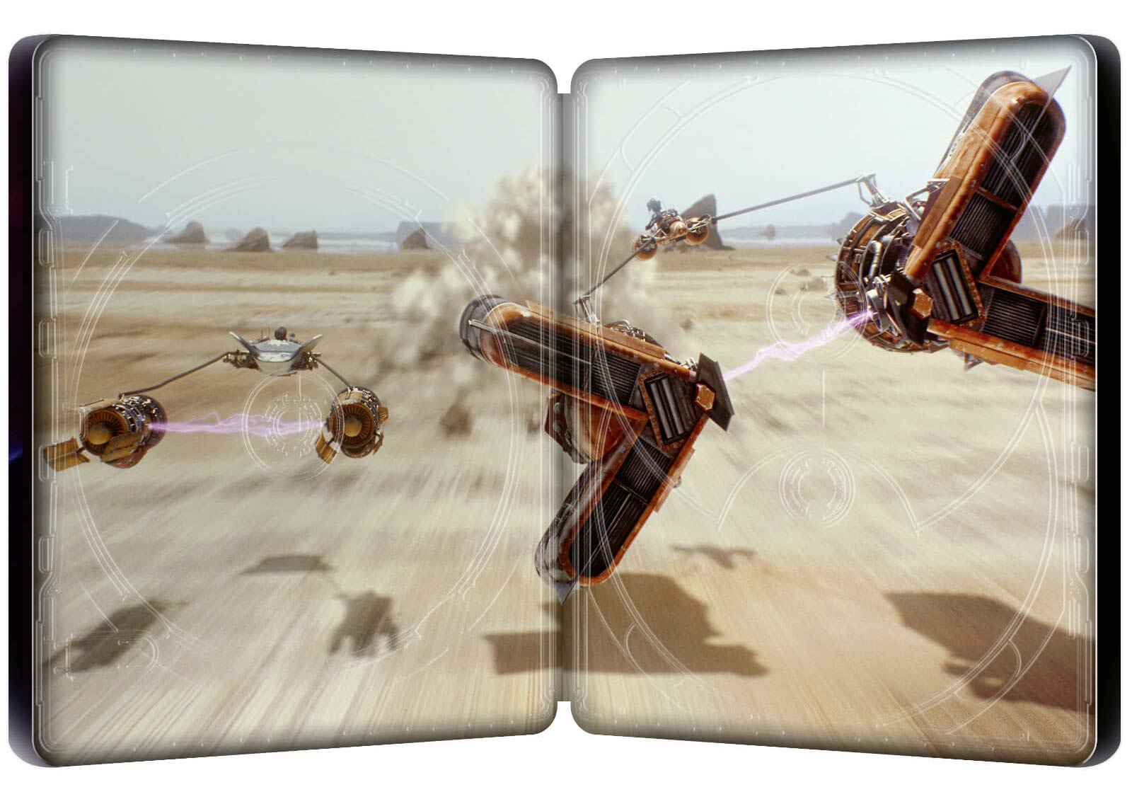 Star Wars: Episode I - The Phantom Menace (4K+2D Blu-ray SteelBook) Zavvi Star-Wars-The-Phantom-Menace-steelbook-4K-3